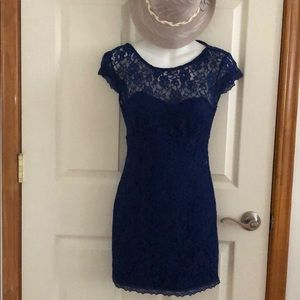 As u wish Beautiful lace mini dress